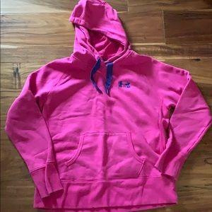 Pink/purple UA hoodie Women's L